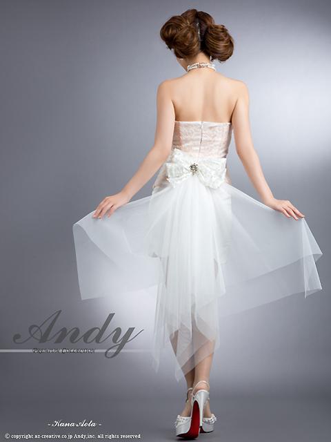 画像3: [ANDY]リボンチュール・スカラーカットスカート・ミニドレス・ワンピース《送料&代引き手数料無料》