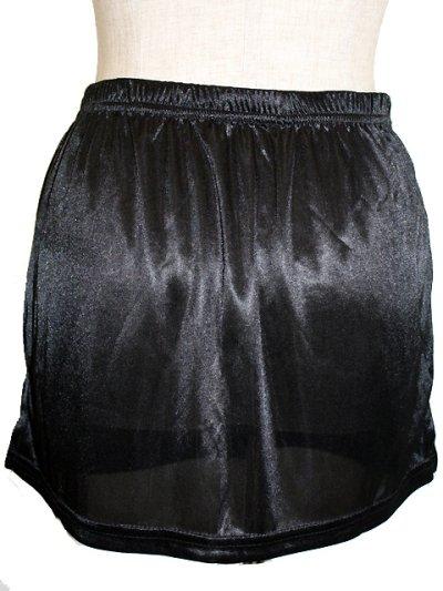 画像1: 下着が透けてしまって気になる方に☆ペチコート☆スカートタイプ