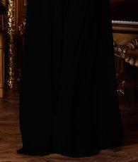画像15: [韓国製][Rinfarre][山崎みどり・若尾綾香着用]胸元ドレープ・無地・シンプル・ノースリーブ・バックトレーン・マーメイド・ロングドレス《送料&代引き手数料無料》 (15)
