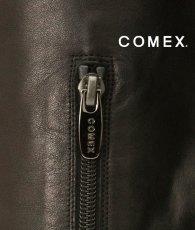 画像6: [一部予約販売][COMEX 日本製]本革・11.5cmヒール・1.5cmストーム・ ピンヒール・ニーハイ・ロングブーツ《送料&代引き手数料無料》 (6)
