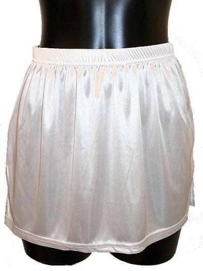 画像2: 下着が透けてしまって気になる方に☆ペチコート☆スカートタイプ
