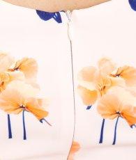 画像12: [ERUKEI][山崎みどり着用][姉ageha]キュート・リボン・ケープ風・花柄・タイト・ミディアムドレス・ワンピース[送料無料]mall (12)