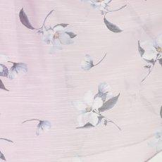画像9: [ERUKEI][山崎みどり着用][姉ageha]ラベンダーカラー・花柄・Aライン・フレア・パフスリーブ・ミディアムドレス・ワンピース[送料無料]m_ (9)