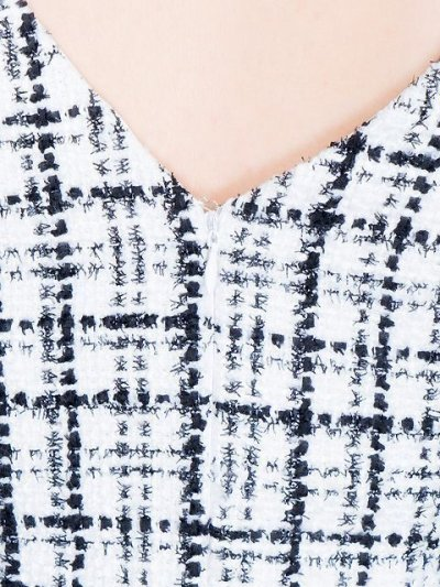 画像2: [SALE品のため返品不可][Glitter][山崎みどり着用][姉ageha]ツイード・胸元パール・パフスリーブ・タイト・ミニドレス・ワンピース[送料無料]