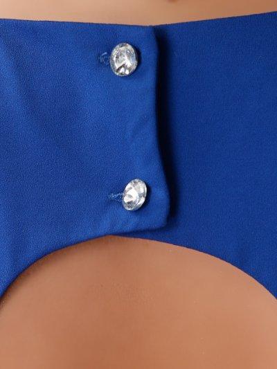 画像2: [SALE品のために返品不可][Glitter][BLENDAモデル ソンイ着用]肩&左サイドビジュー・タイト・ワンピース・ミニドレス