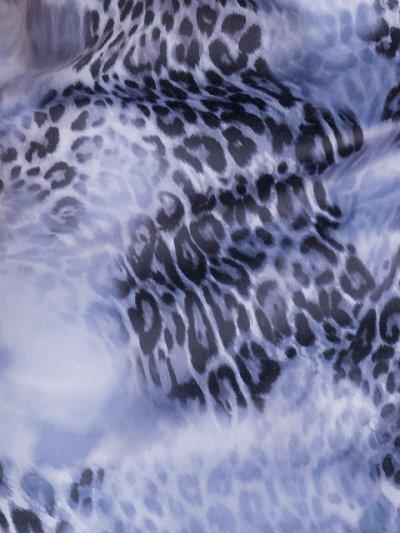画像2: [SALE品のために返品不可][Glitter][山崎みどり着用]レオパード・ブラックレース・ビジュー・ベア・タイト・ミニドレス