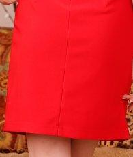 画像19: [SALE品のため返品不可][ERUKEI][早川沙世・薗田杏奈着用][姉ageha]レース・ハイネック・キラキラビジュー・大人・半袖・タイト・ミニドレス・ワンピース[送料無料] (19)