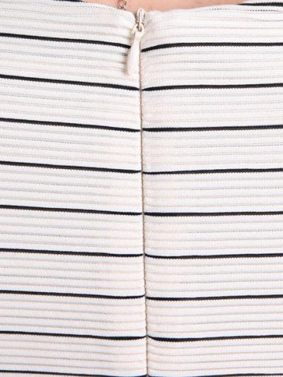 画像2: [SALE品のために返品不可][ERUKEI][山崎みどり着用]ペンシルボーダー・ノースリーブ・シンプル・タイト・ミニドレス・ワンピース