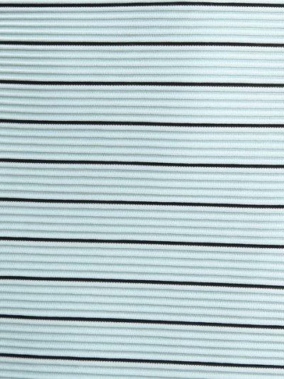 画像3: [SALE品のために返品不可][ERUKEI][山崎みどり着用]ペンシルボーダー・ノースリーブ・シンプル・タイト・ミニドレス・ワンピース