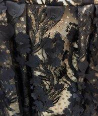 画像11: [SALE品のため返品不可&再入荷なしの現品限り][ERUKEI Settan][若尾綾香・関あいか着用]花びらモチーフ・Aライン・ノースリーブ・ミディアムドレス・ワンピース[送料無料] (11)