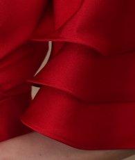 画像13: [ERUKEI Settan]ビビッドカラー・オープンショルダー・シンプル・フリル袖・無地・ロングドレス《送料&代引き手数料無料》 (13)