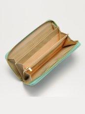 画像5: 【SALE品のため返品不可&再入荷なしの現品限り】[L.A.直接買付][C.Wonder]Shagreen Continental Zip Wallet・長財布・ウォレット[送料無料] (5)