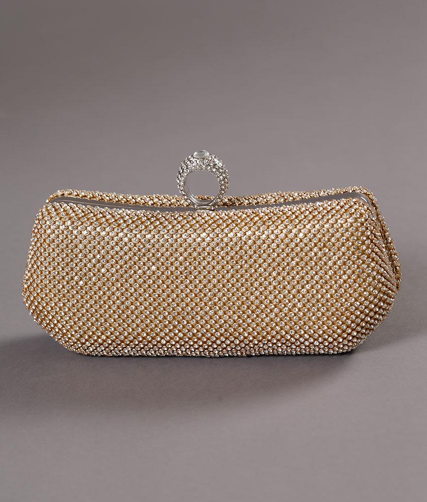 画像2: [バッグ]キラキラ六角形・3WAYチェーン・パーティー・ショルダー・ハンド・クラッチバッグ