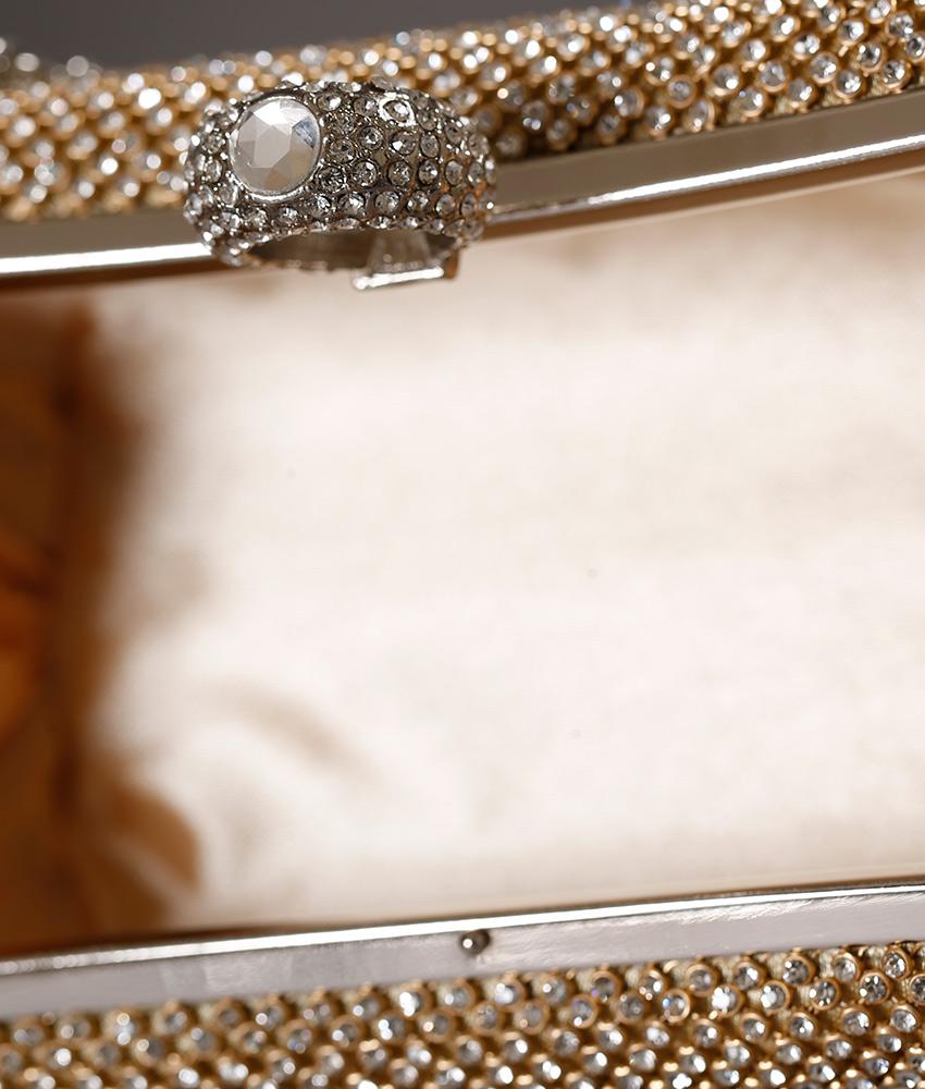 画像4: [バッグ]キラキラ六角形・3WAYチェーン・パーティー・ショルダー・ハンド・クラッチバッグ