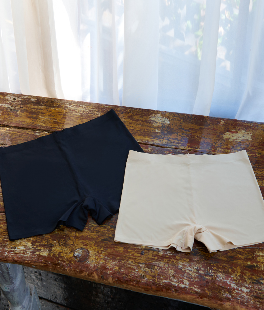 画像1: シームレスショーツ・下着・単品ボクサーショーツ・ボーイレッグ・ショーツパンツ (1)