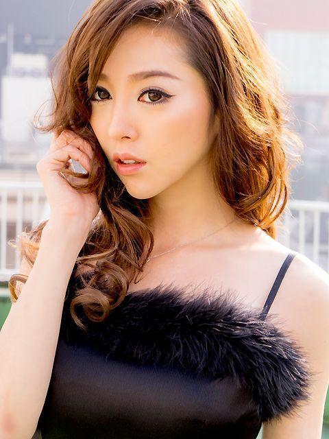 画像4: [LK][山崎みどり着用][姉ageha]ブラック・胸元&裾・ポイントファー・シンプル・ロングドレス[送料無料]
