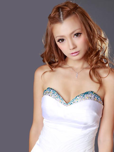 画像4: [LK]シフォンドレープ・ベア・胸元カラフルビジュー・タイト・ミニドレス・ワンピース《送料&代引き手数料無料》