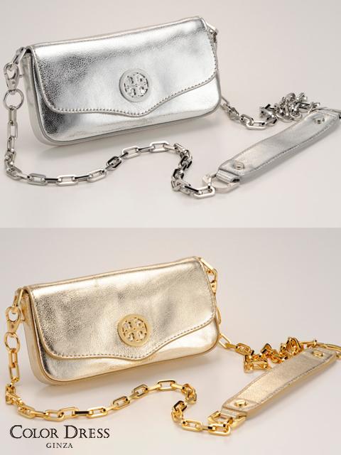 画像1: [N.Y.直接買付][Tory Burch][Classic Mini Bag]シャイニー・ミニショルダーバッグ・トリーバーチ《送料&代引き手数料無料》 (1)