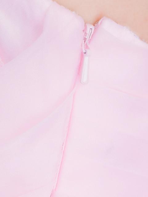画像: [Angel R][山崎みどり着用]ベア・薔薇レース・シフォン・フリル・ロングドレス《送料&代引き手数料無料》