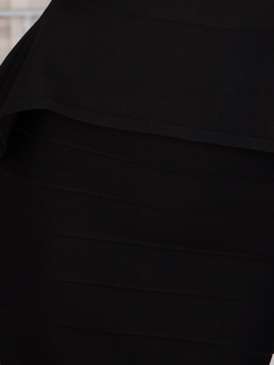 画像: [Angel R][山崎みどり・きよみ着用][姉ageha]バンテージニット・シンプル・フリル・ぺプラム・バックZIP・タイト・ミニスカート・セットアップ・2ピース《送料&代引き手数料無料》【mbklu】