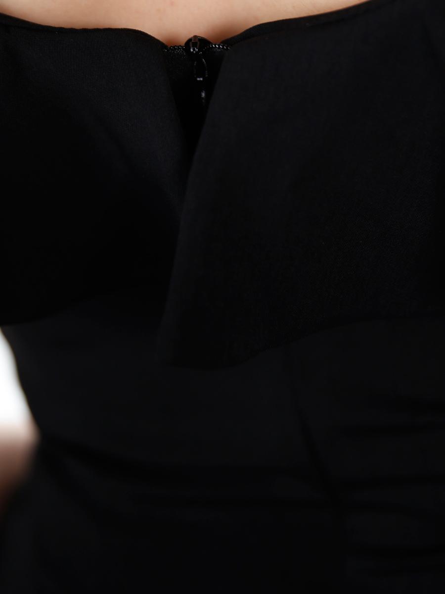 画像: [COLORDRESS] [山崎みどり着用][姉ageha]シンプル・無地・胸元フリル・ノースリーブ・ミディアムドレス・ワンピース[送料無料]【mbk】