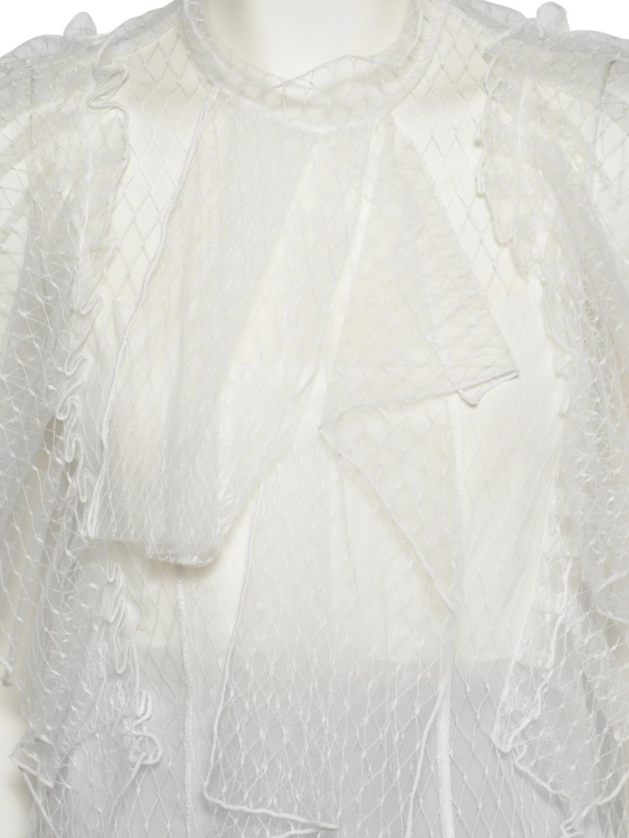 画像: [大大人気商品!!][再入荷][韓国製][Rinfarre] [薗田杏奈着用]キャミソール付・レースフリルトップス×シンプルアシメントリーミディアムスカート・セットアップ・ツーピース[送料無料]