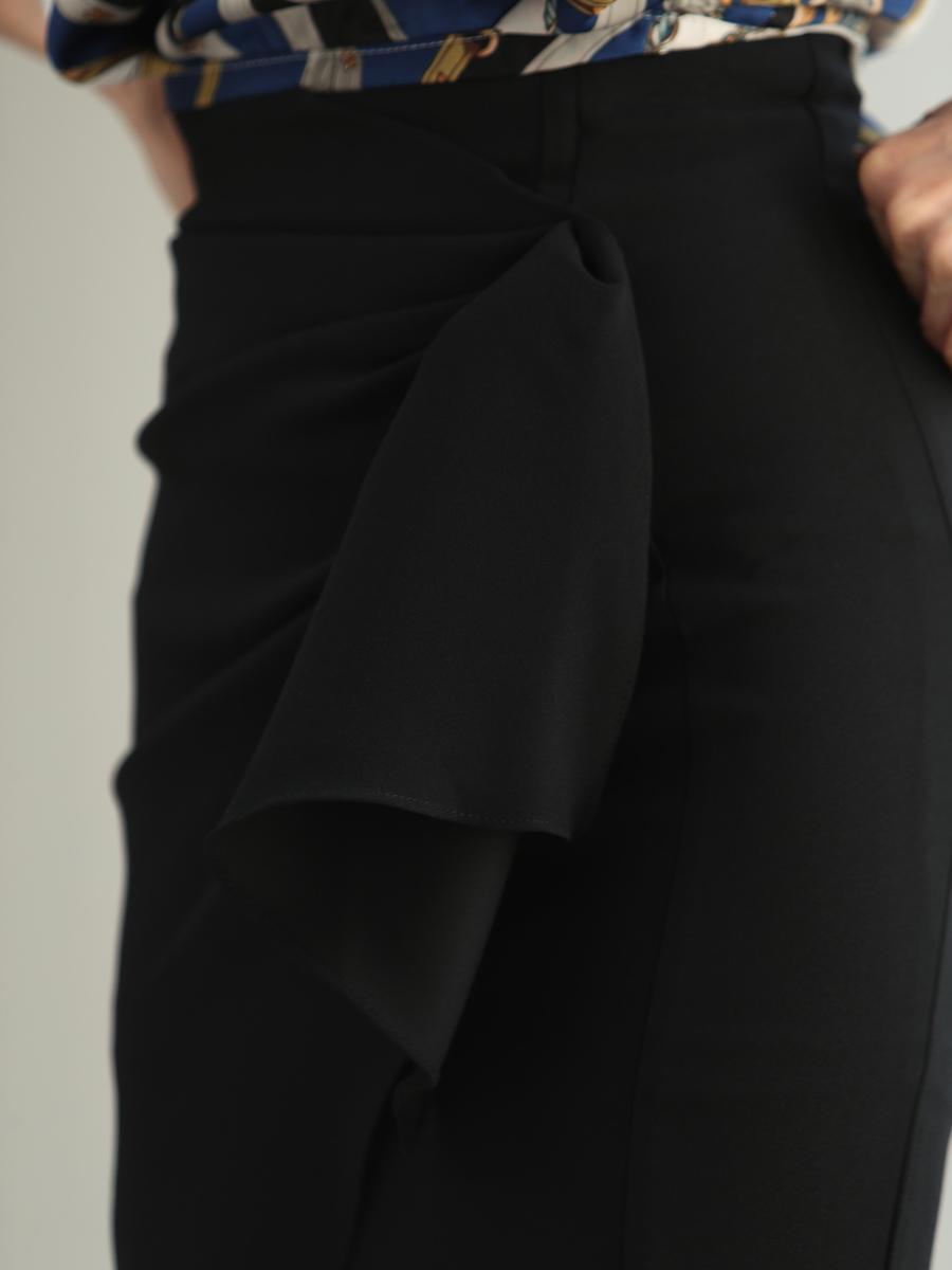画像: 【SALE品のため返品不可&再入荷なしの現品限り】[韓国製][Rinfarre] [山崎みどり・薗田杏奈着用][姉ageha][韓国製]プリント柄・背中肩開き・フレア七分袖トップス×ラップ風・ドレープ・タイト・ミディアムスカート・セットアップ・ツーピース[送料無料]