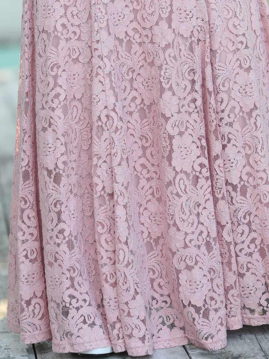 画像: [ERUKEI][山崎みどり・薗田杏奈着用][姉ageha]総レース・エレガント・Vネック・ノースリーブ・タイト・マーメイドライン・ロングドレス[送料無料]【mpkor】
