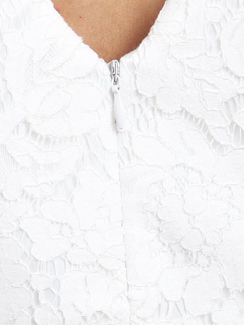 画像: 【SALE品のため返品不可】[Glitter][立石なみ着用][姉ageha]ツイード・バイカラー・切り替えライン・胸元パール・パフスリーブ・タイト・ミニドレス・ワンピース